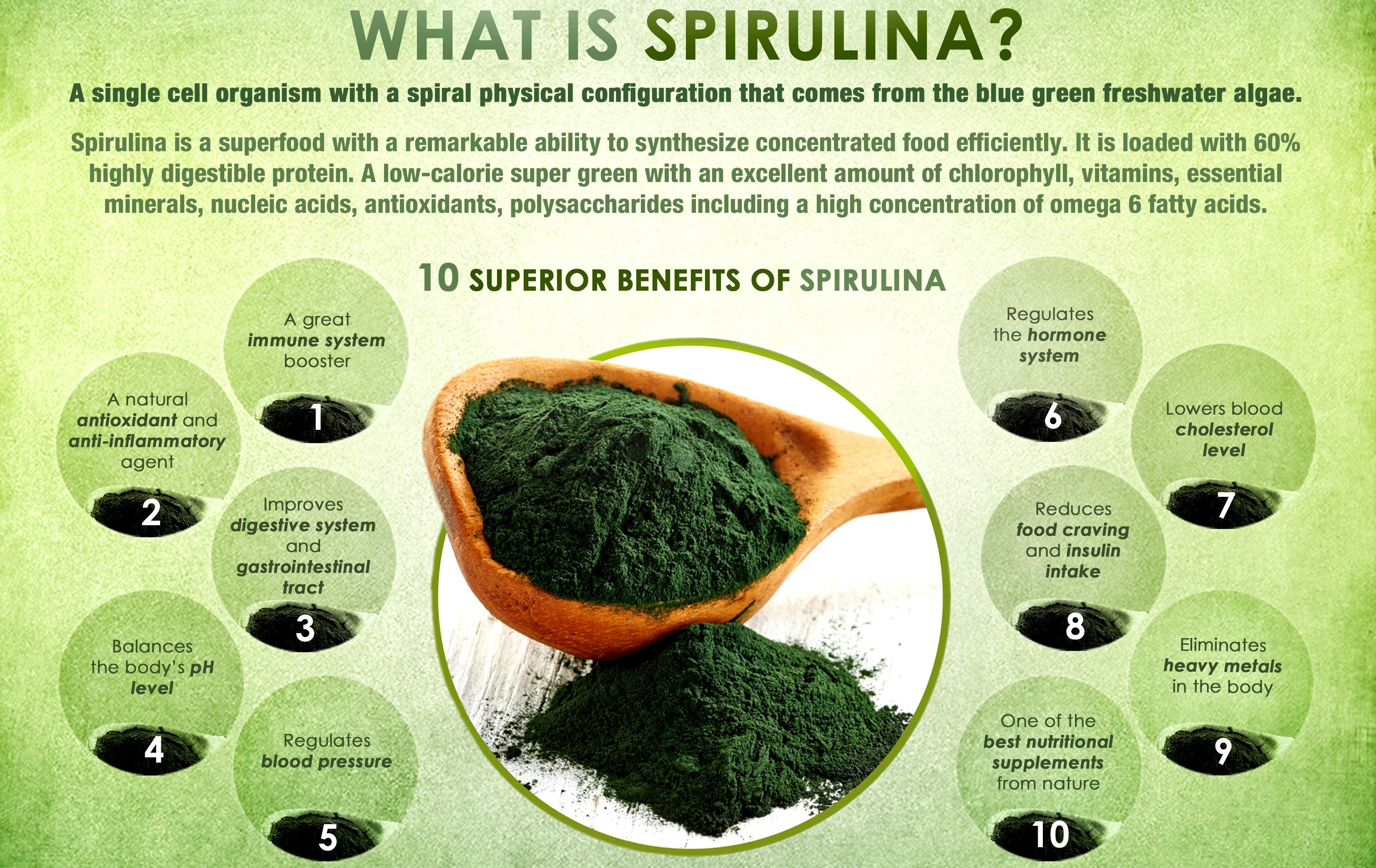 Find Out Why Spirulina Is Known As 'The Magic Food ...