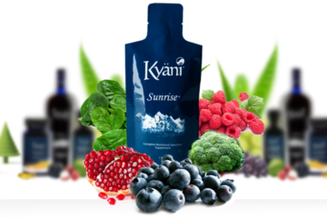 What are the ingredients in Kyani Sunrise?